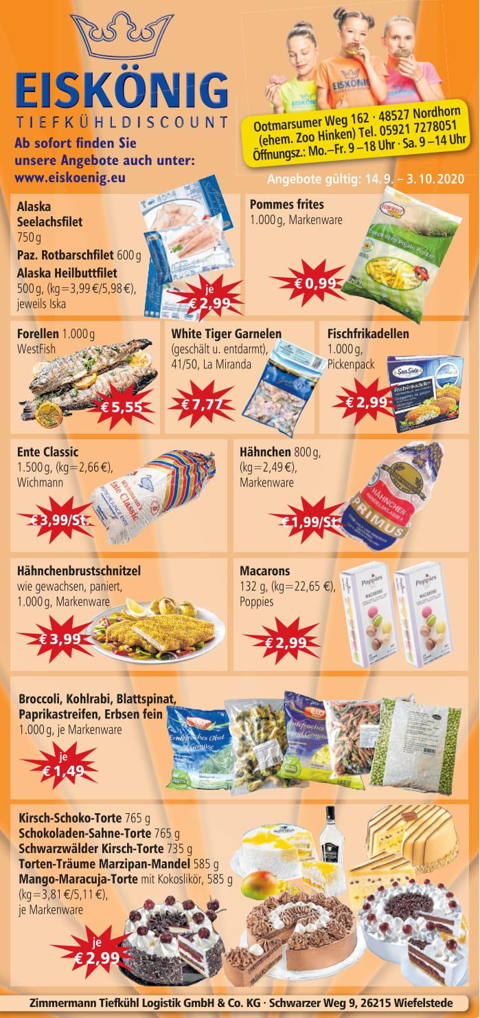 Angebote Eiskönig Tiefkühl Discount Nordhorn